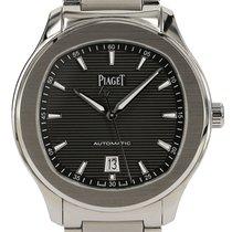 Piaget Polo S Сталь 42mm Черный Без цифр