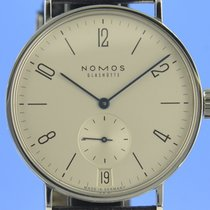 NOMOS Tangomat Datum Steel 38mm Silver
