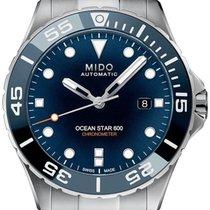Mido Ocean Star Steel 43.5mm