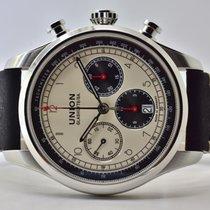 Union Glashütte Belisar Chronograph Steel 44mm Arabic numerals