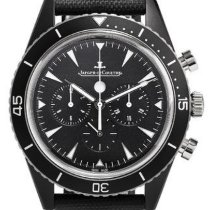 Jaeger-LeCoultre Deep Sea Chronograph Ceramic 44mm Black No numerals