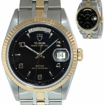 Tudor Prince Date Gold/Steel 36mm Black Arabic numerals United States of America, New York, Huntington