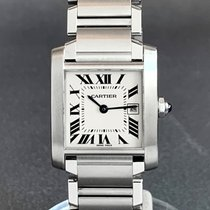 Cartier Tank Française Steel 25mm Silver Roman numerals United States of America, Tennesse, Nashville