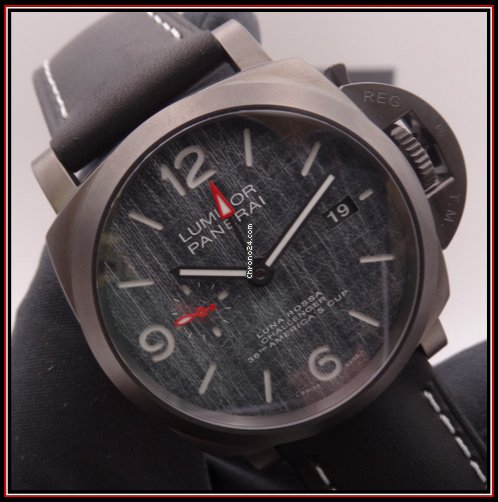 Panerai Luminor GMT Automatic PAM 01036 2021 подержанные