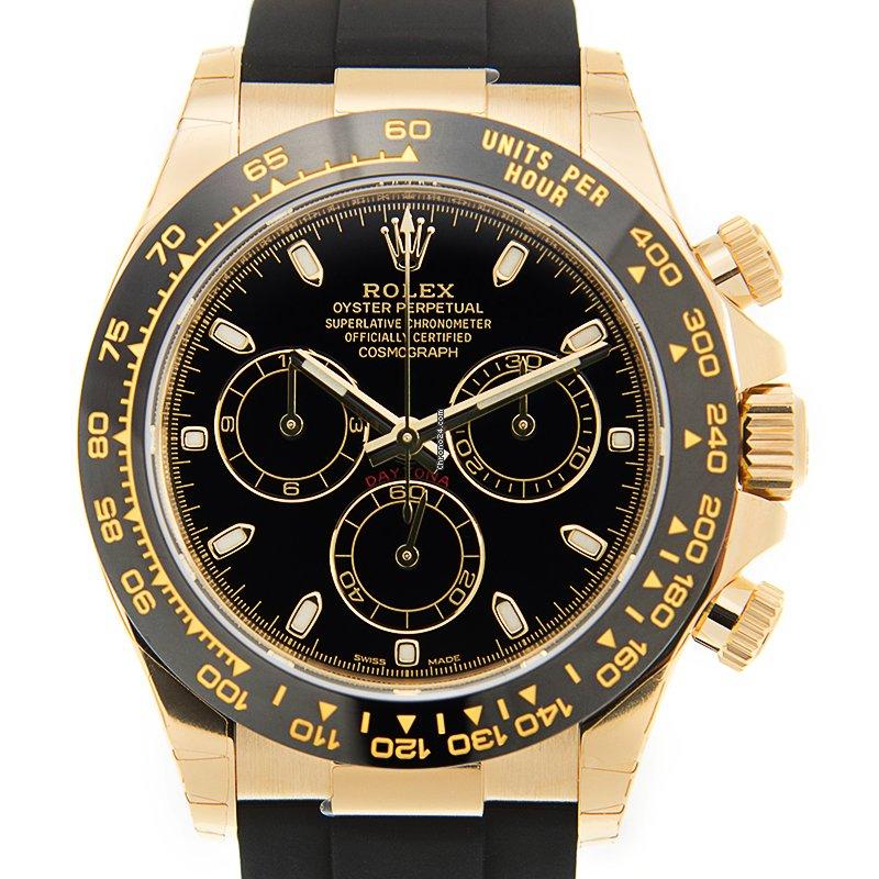 Rolex Daytona 116518LN-0040 новые