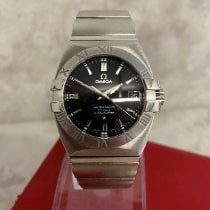 Omega Constellation Double Eagle Steel 35mm Black No numerals United Kingdom, Kings Langley