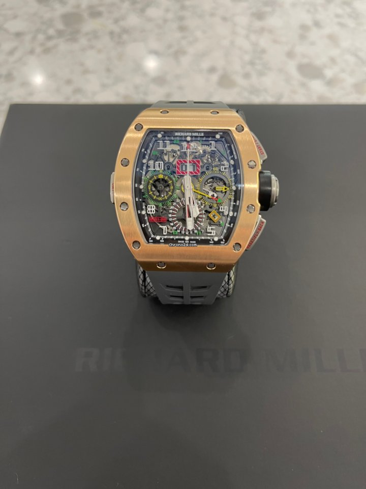 Richard Mille RM 011 RM 11-02 2015 pre-owned