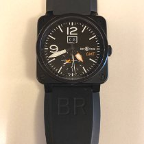 Bell & Ross BR 03-51 GMT Steel 42mm White Arabic numerals