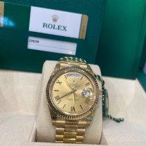 Rolex Day-Date 40 Yellow gold 40mm Gold Roman numerals UAE, Dubai