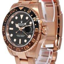 Rolex GMT-Master II Rose gold 40mm Black No numerals UAE, Dubai