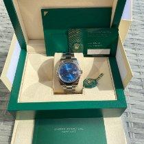Rolex Datejust Steel 41mm Blue Roman numerals UAE, Dubai