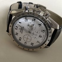 Omega White gold Automatic 42mm pre-owned Speedmaster Broad Arrow
