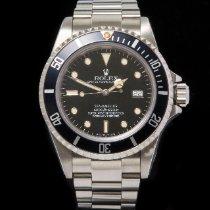 Rolex Sea-Dweller Steel 40mm Black No numerals United Kingdom, Macclesfield