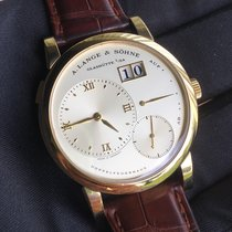 A. Lange & Söhne Lange 1 101.021 Sehr gut Gelbgold 38.5mm Handaufzug Schweiz, Cormérod