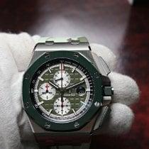 Audemars Piguet Royal Oak Offshore Chronograph Steel 44mm Green No numerals United States of America, Florida, Orlando