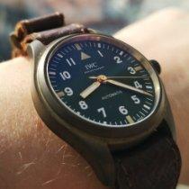 IWC Pilot's Watch Automatic 36 Bronz 36mm Verde Arabic