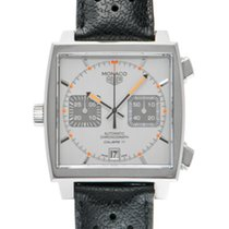 TAG Heuer CAW211C.FC6241 Steel 2017 Monaco Calibre 11 39mm pre-owned