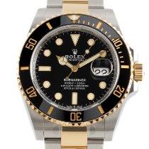 Rolex Submariner Date Acero y oro 41mm Negro