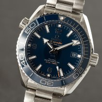 Omega Seamaster Planet Ocean Сталь 43.5mm Синий