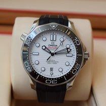 Omega Seamaster Diver 300 M Stahl 42mm Weiß Schweiz, Geneva