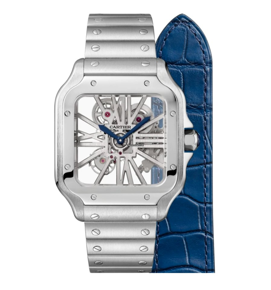 Cartier Santos (submodel) WHSA0015 2021 новые