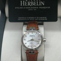 Michel Herbelin Newport (submodel) Steel 32mm Silver No numerals