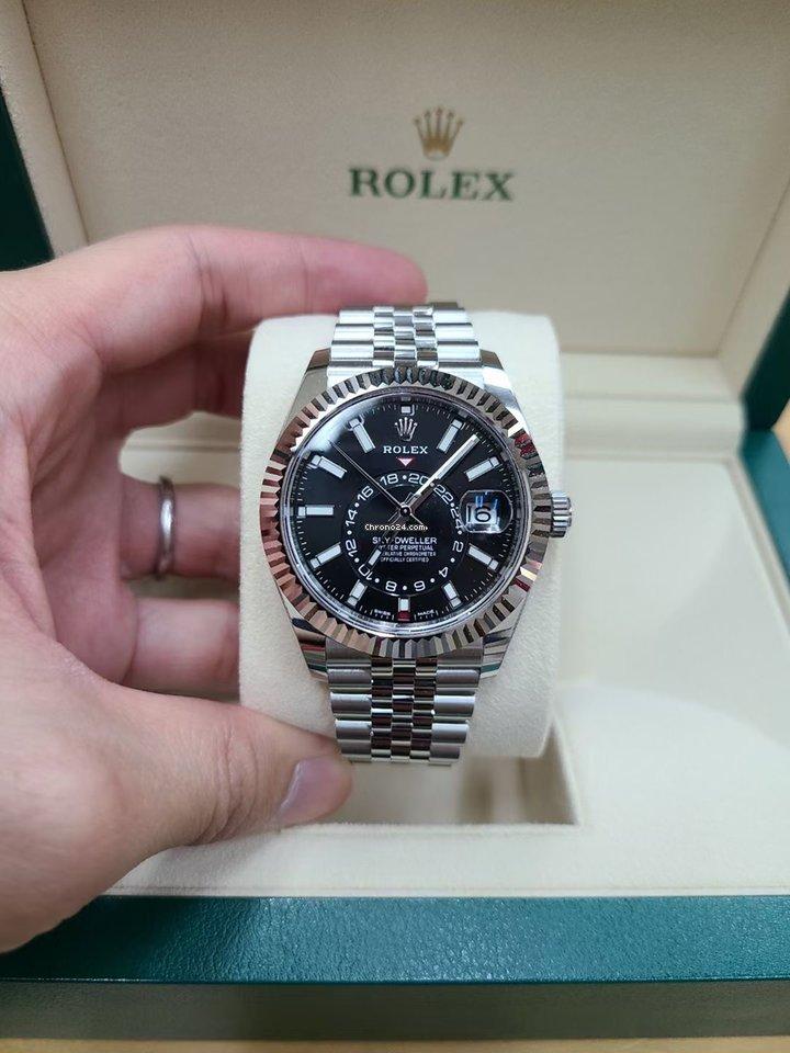 Rolex (ロレックス) スカイドゥエラー 326934 新品