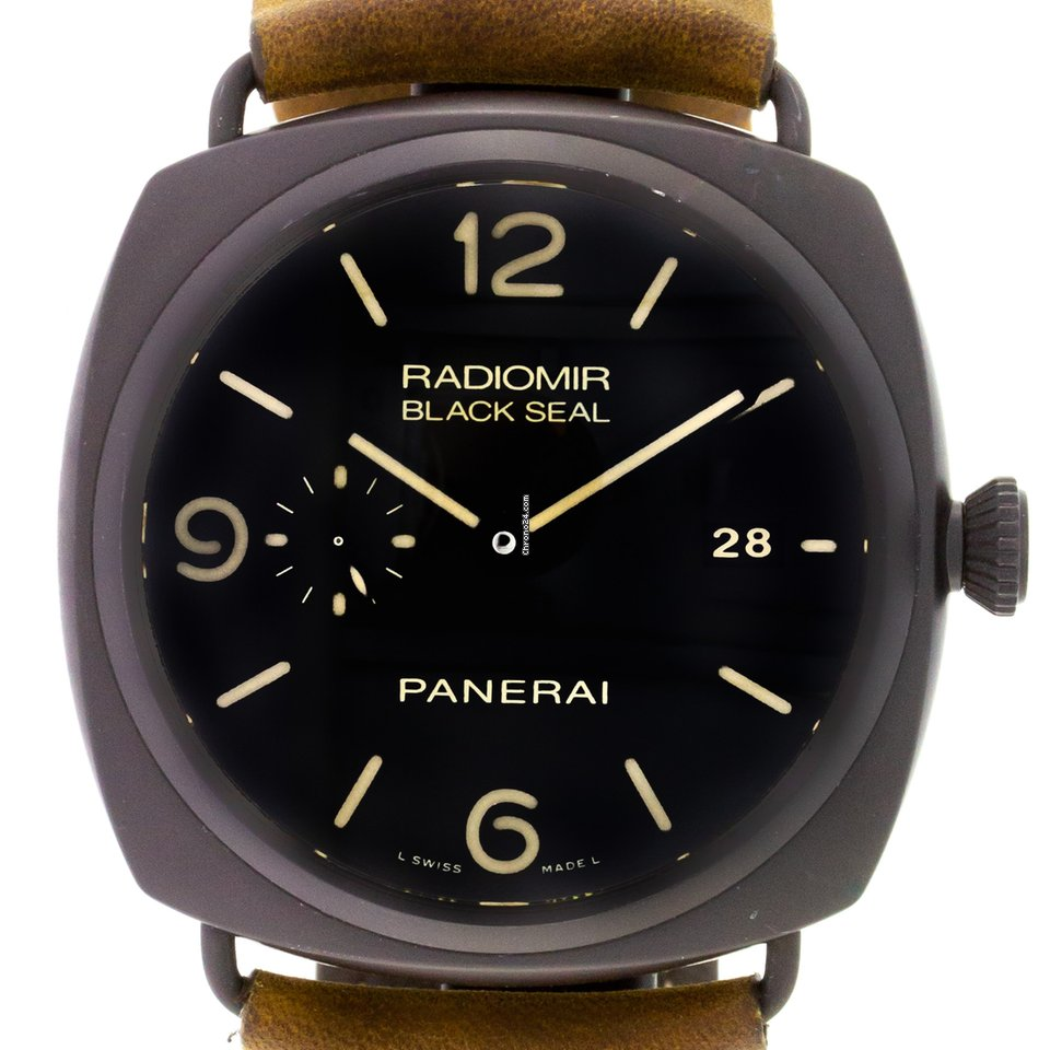 Panerai Radiomir Black Seal 3 Days Automatic PAM 00505 2013 tweedehands