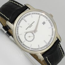 Vacheron Constantin 87172/000G-9301 White gold 2007 Patrimony 38mm pre-owned