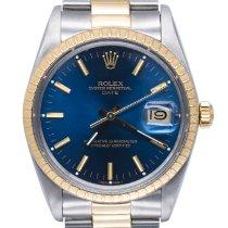 Rolex Oyster Perpetual Date Acciaio 34mm Blu Senza numeri Italia, Viareggio