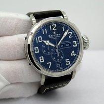 Zenith Pilot Type 20 Annual Calendar Acier 48mm Noir Arabes