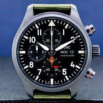 IWC Pilot Chronograph Top Gun Cerámica 44.5mm Arábigos