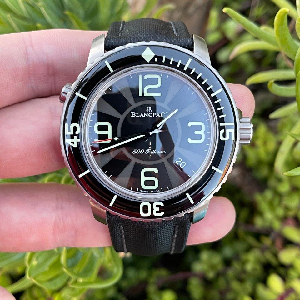 Blancpain 500 Fathoms 50015-12B30-52B 2010 pre-owned