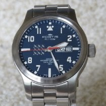 Fortis new Automatic Luminous hands Chronometer 42mm Steel Sapphire crystal