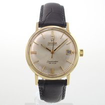 Omega Seamaster DeVille Yellow gold 34.5mm No numerals