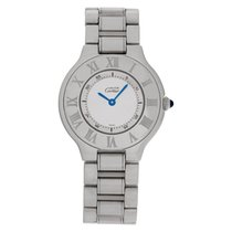 Cartier 21 Must de Cartier Steel 31mm Silver No numerals United States of America, Florida, Surfside