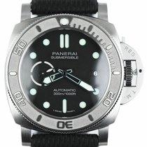Panerai Luminor Submersible Titanium 47mm Black Arabic numerals United States of America, New York, Smithtown