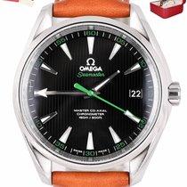 Omega Seamaster Aqua Terra pre-owned 41.5mm Leather