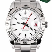 Rolex Datejust Turn-O-Graph Gold/Steel 36mm White United States of America, New York, Smithtown