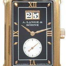 A. Lange & Söhne Cabaret Pозовое золото 25.7mm Черный