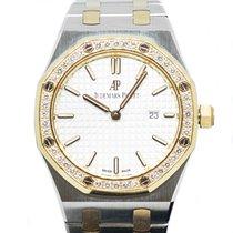 Audemars Piguet Royal Oak Lady Gold/Steel 33mm Silver No numerals Singapore