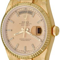 Rolex 118238 Yellow gold Day-Date 36 36mm pre-owned United States of America, Texas, Dallas