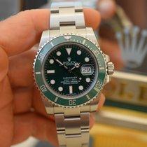 Rolex Submariner Date Stahl 40mm Grün Schweiz, Geneva