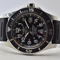Breitling Superocean II 44 Steel 44mm Black Arabic numerals