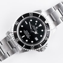 Rolex Sea-Dweller 4000 Staal 40mm Zwart Geen cijfers Nederland, Opmeer