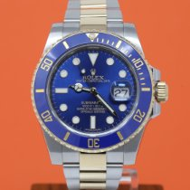 Rolex Submariner Date 116613LB Very good Gold/Steel 40mm Automatic