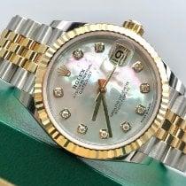 Rolex Datejust 278273 Ungetragen Gold/Stahl 31mm Automatik