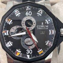 Corum Admiral's Cup Seafender Tides 48 Titanio 48mm Negro Arábigos