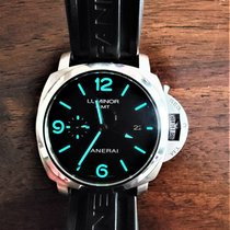 Panerai PAM 00320 Steel Luminor 1950 3 Days GMT Automatic 44mm pre-owned United States of America, Florida, Jacksonville