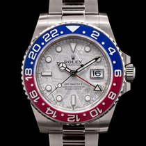 Rolex White gold Automatic Arabic numerals 40mm new GMT-Master II